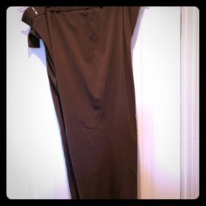 Women's dress pants, brown, size 18W Style and Co.